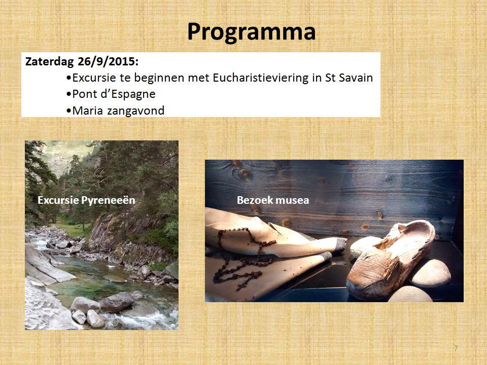 Programma Excursie Pyreneeën Bezoek musea