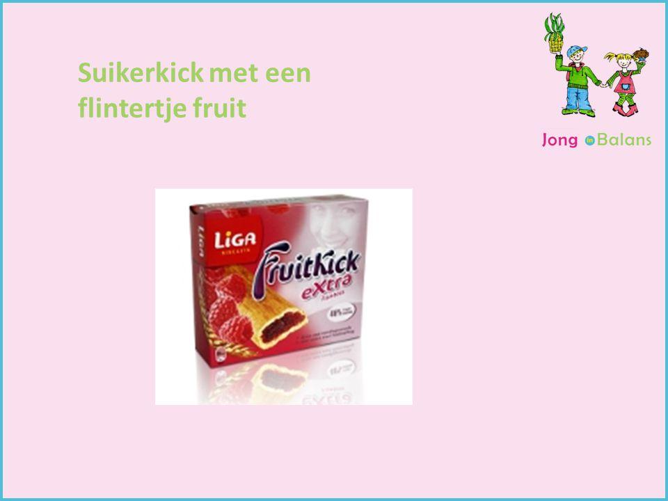 Suikerkick met een flintertje fruit