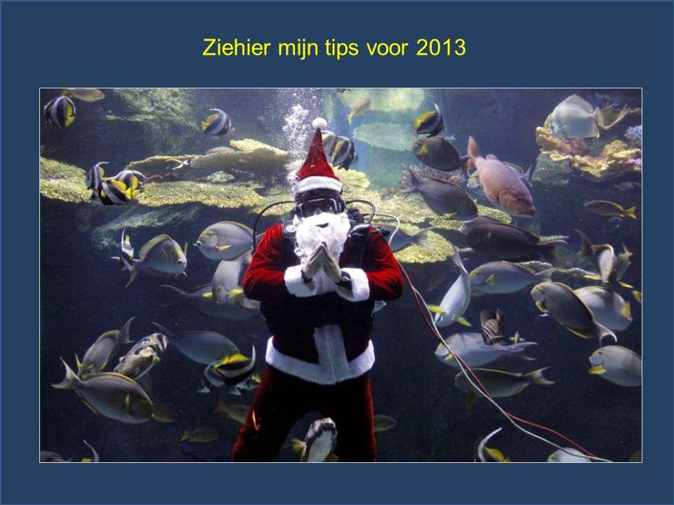 Ziehier mijn tips voor 2013
