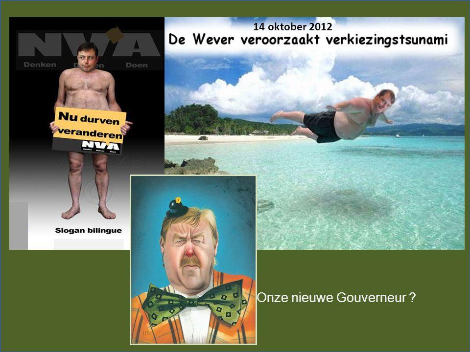 Onze nieuwe Gouverneur