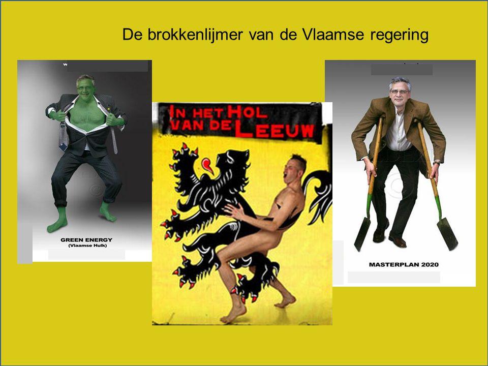 De brokkenlijmer van de Vlaamse regering