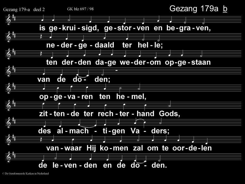 . Gezang 179a b . .