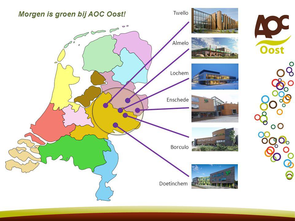 Morgen is groen bij AOC Oost!