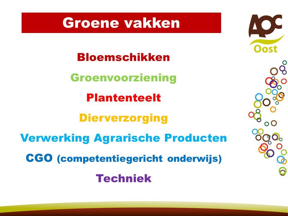 Groene vakken Bloemschikken Groenvoorziening Plantenteelt