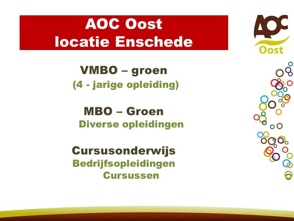 AOC Oost locatie Enschede