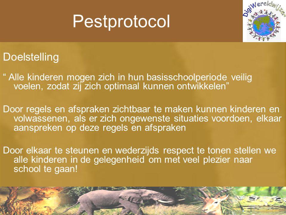 Pestprotocol Doelstelling: