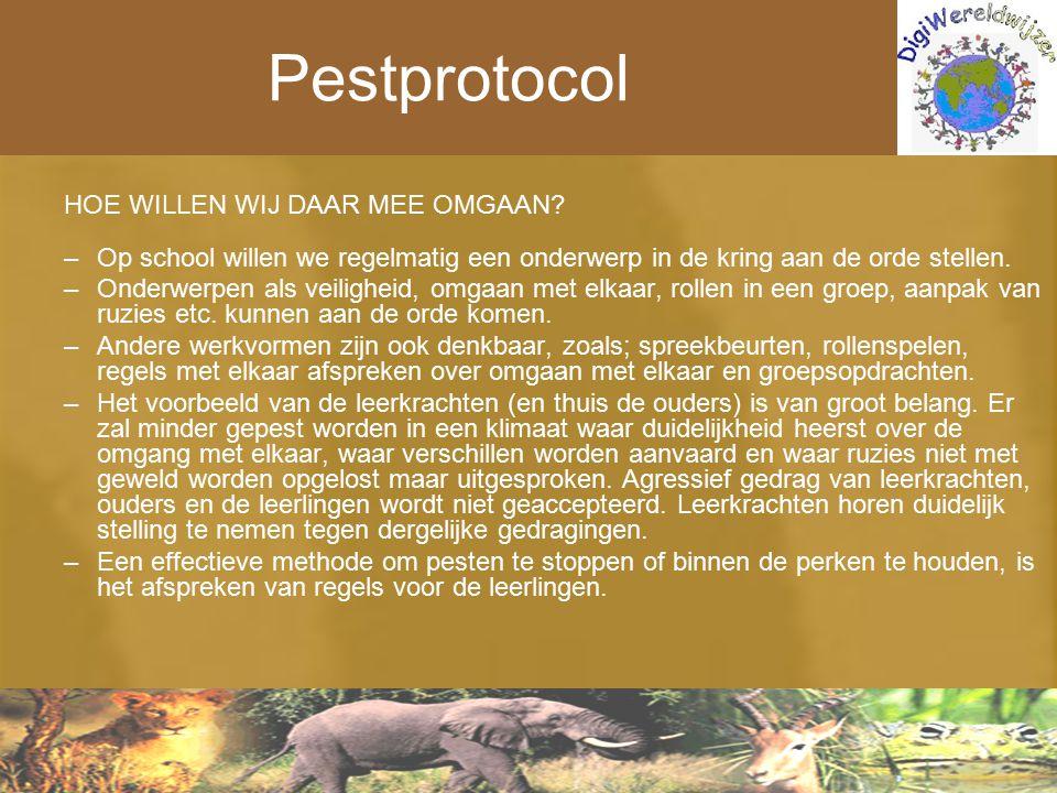 Pestprotocol HOE WILLEN WIJ DAAR MEE OMGAAN