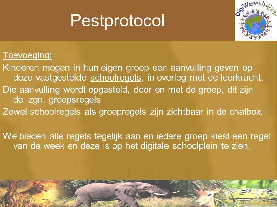 Pestprotocol Toevoeging: