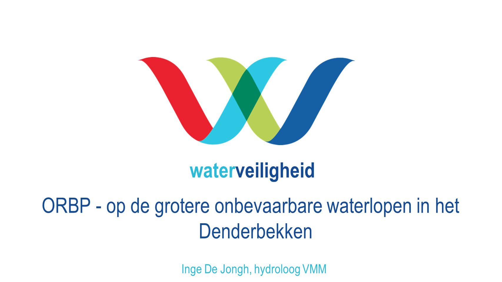 Inge De Jongh, hydroloog VMM