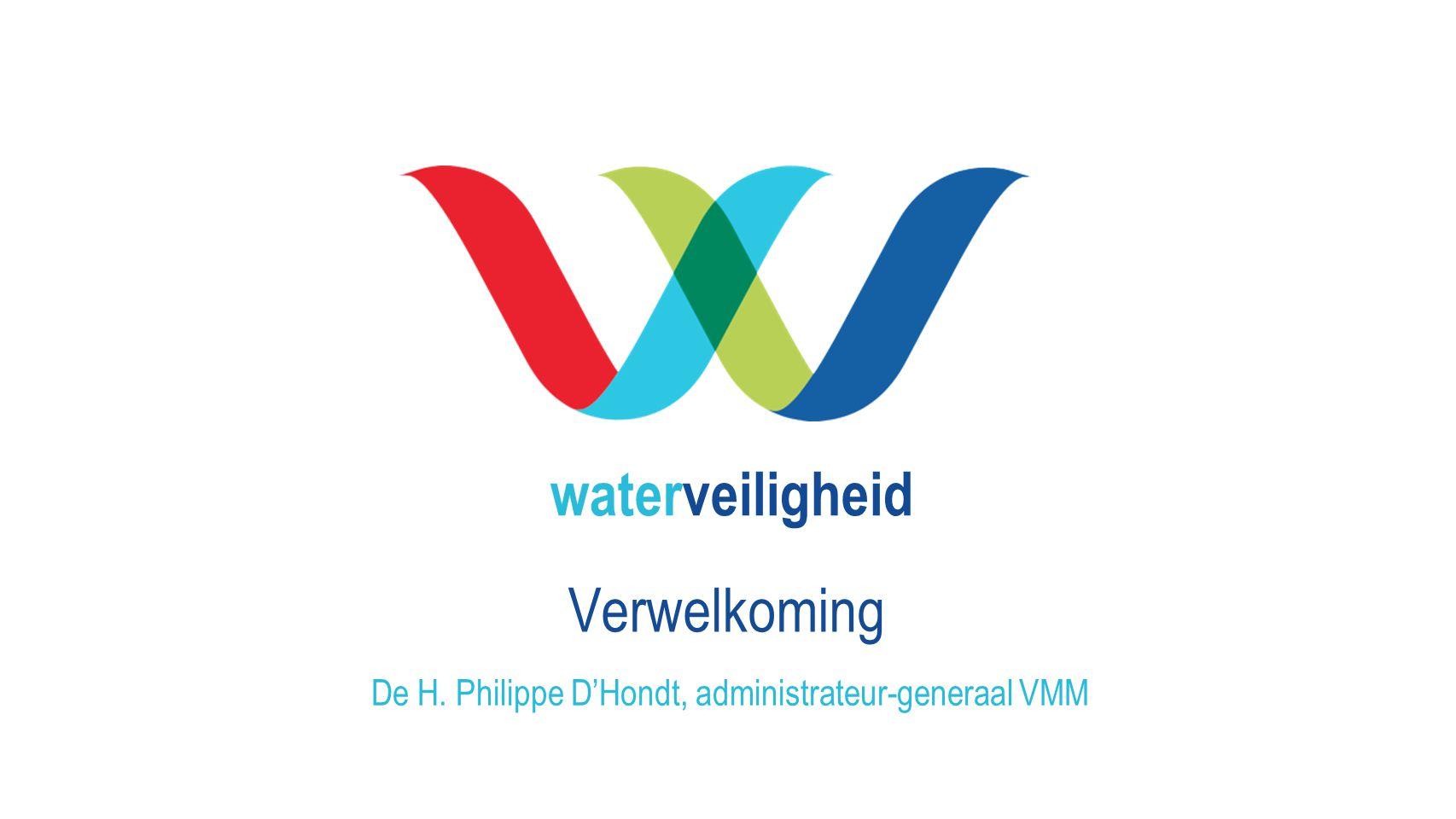 De H. Philippe D'Hondt, administrateur-generaal VMM