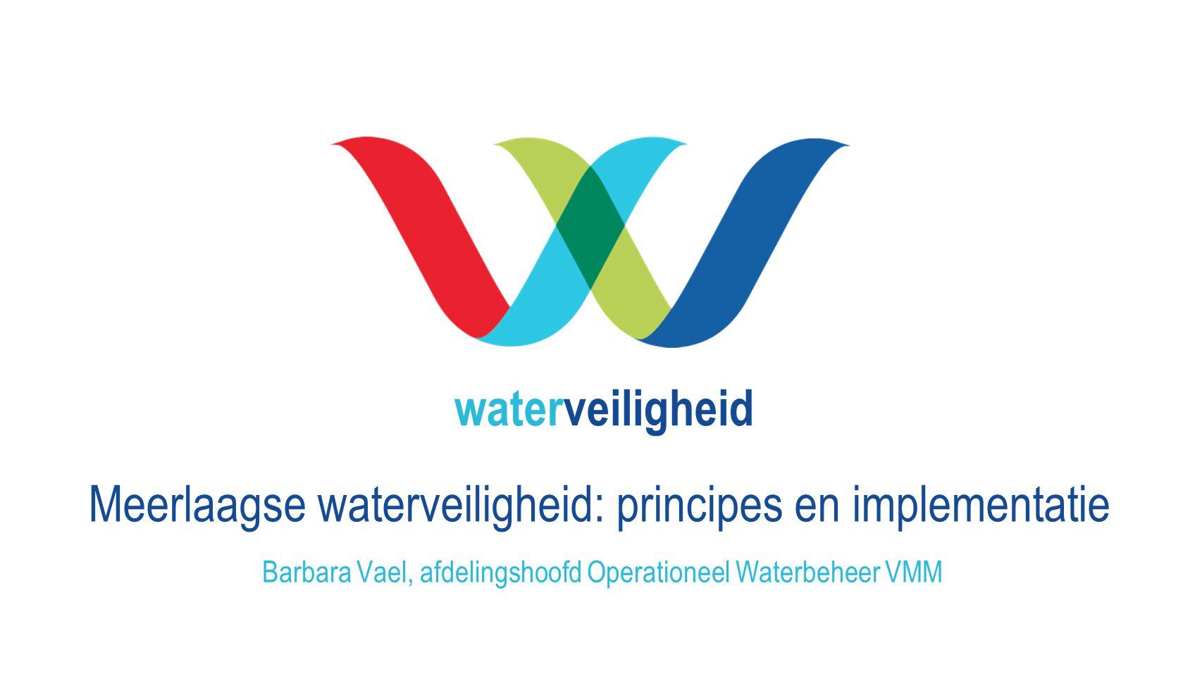 Barbara Vael, afdelingshoofd Operationeel Waterbeheer VMM