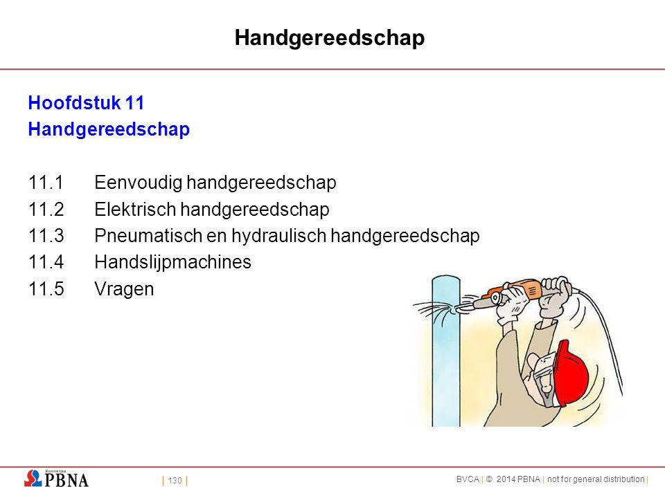 Handgereedschap Hoofdstuk 11 Handgereedschap