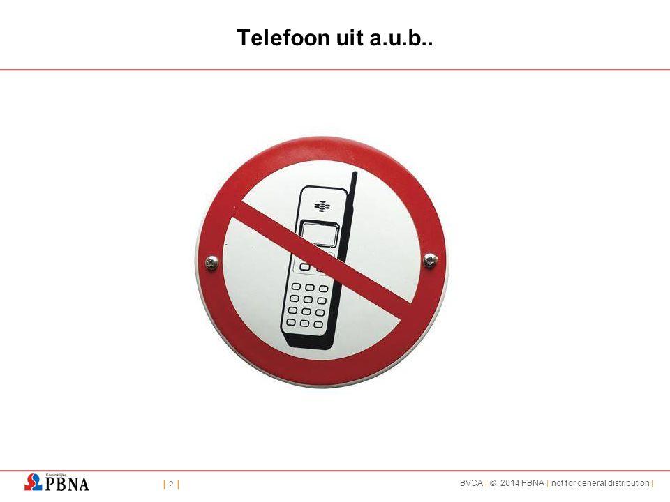 Telefoon uit a.u.b..