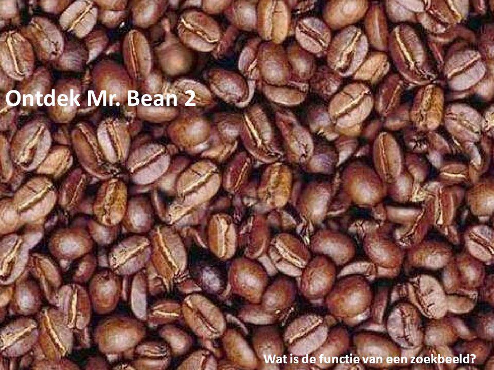Ontdek Mr. Bean 2 Wat is de functie van een zoekbeeld