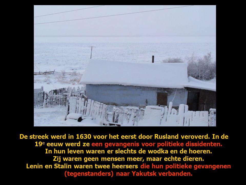 De streek werd in 1630 voor het eerst door Rusland veroverd
