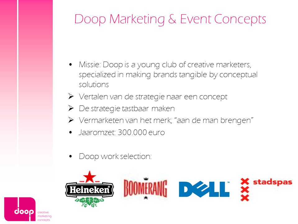 Doop Marketing & Event Concepts