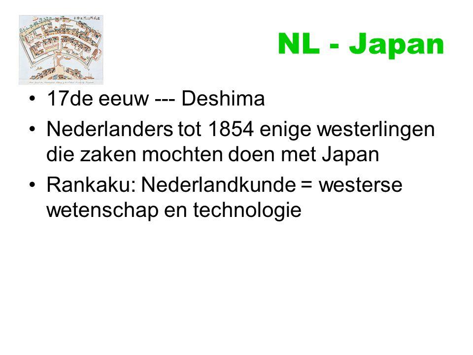 NL - Japan 17de eeuw --- Deshima
