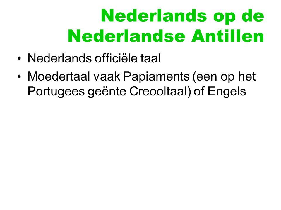 Nederlands op de Nederlandse Antillen