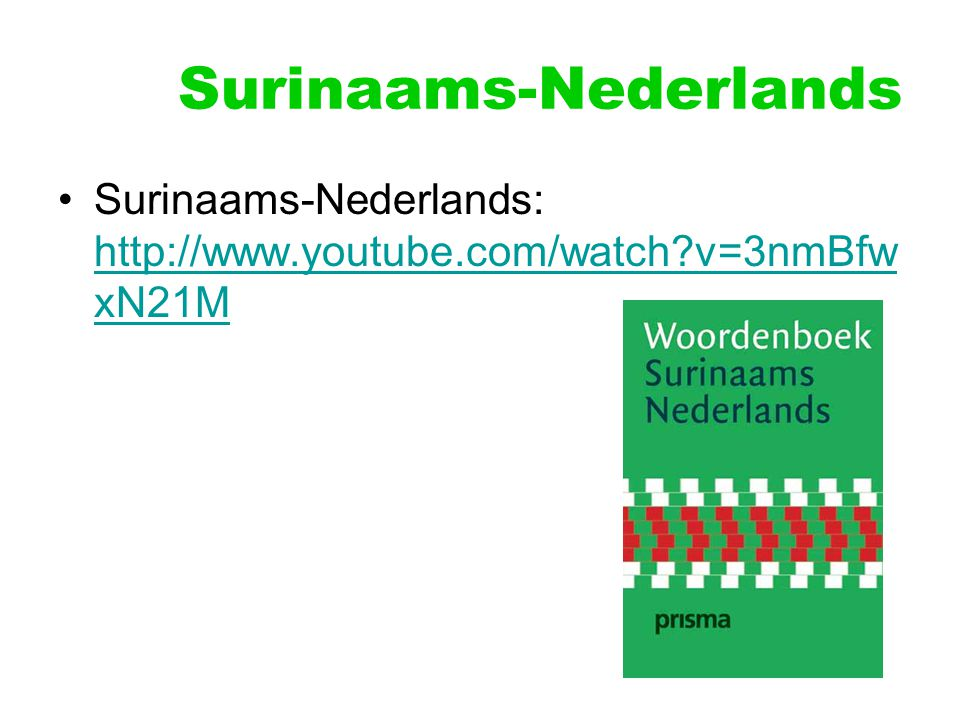 Surinaams-Nederlands