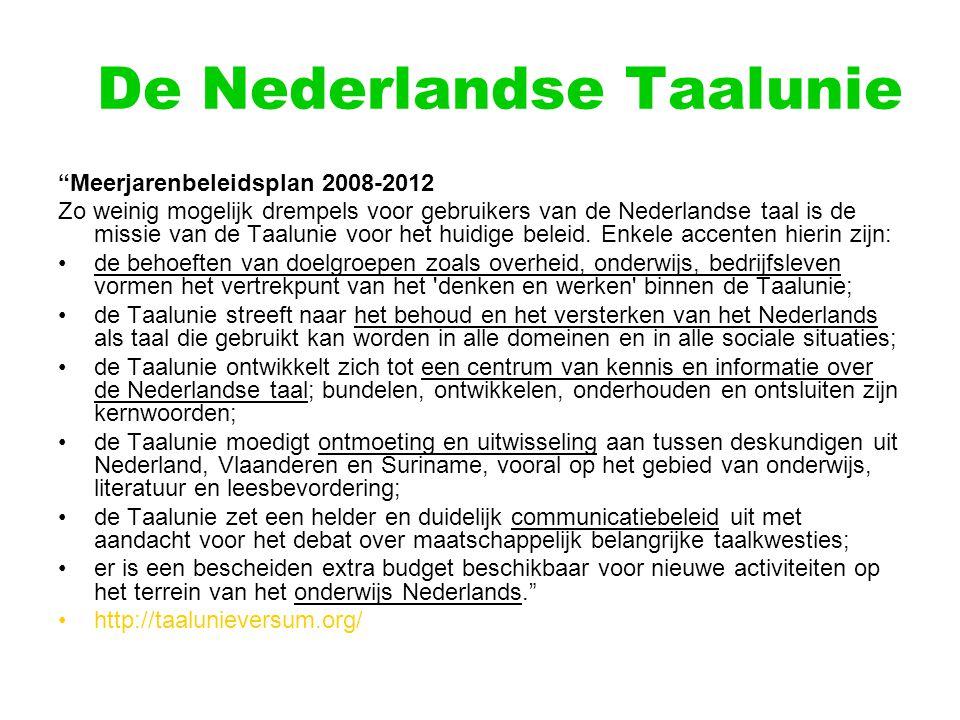 De Nederlandse Taalunie