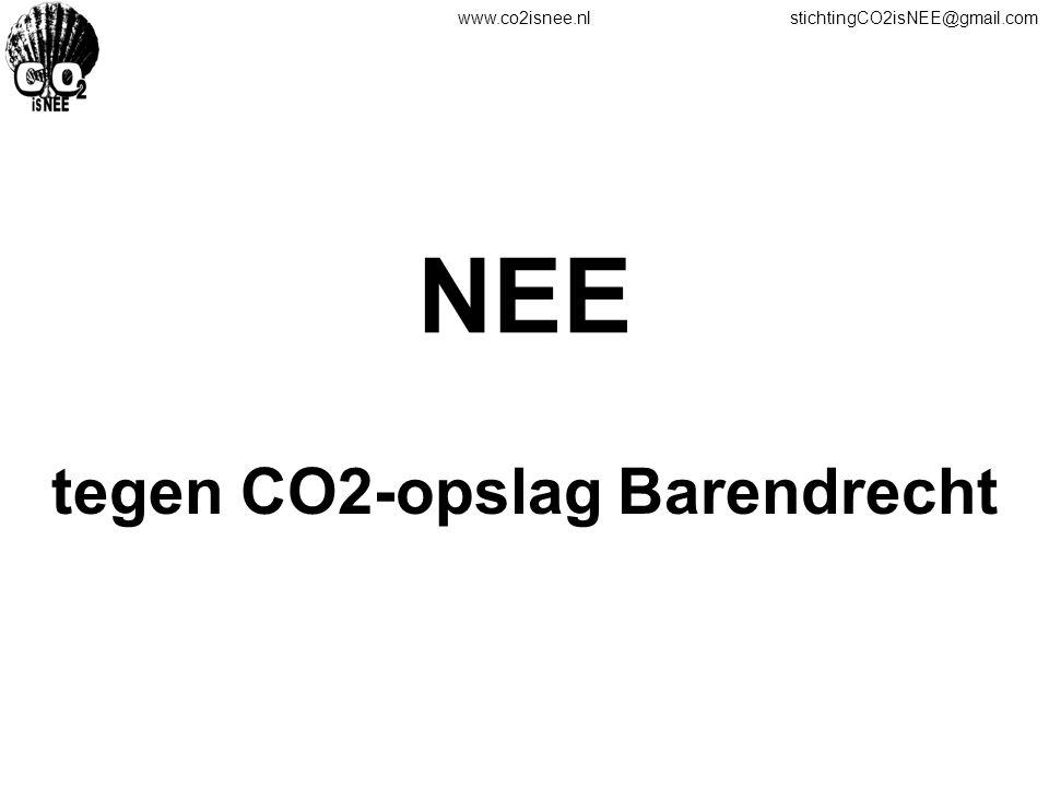 tegen CO2-opslag Barendrecht