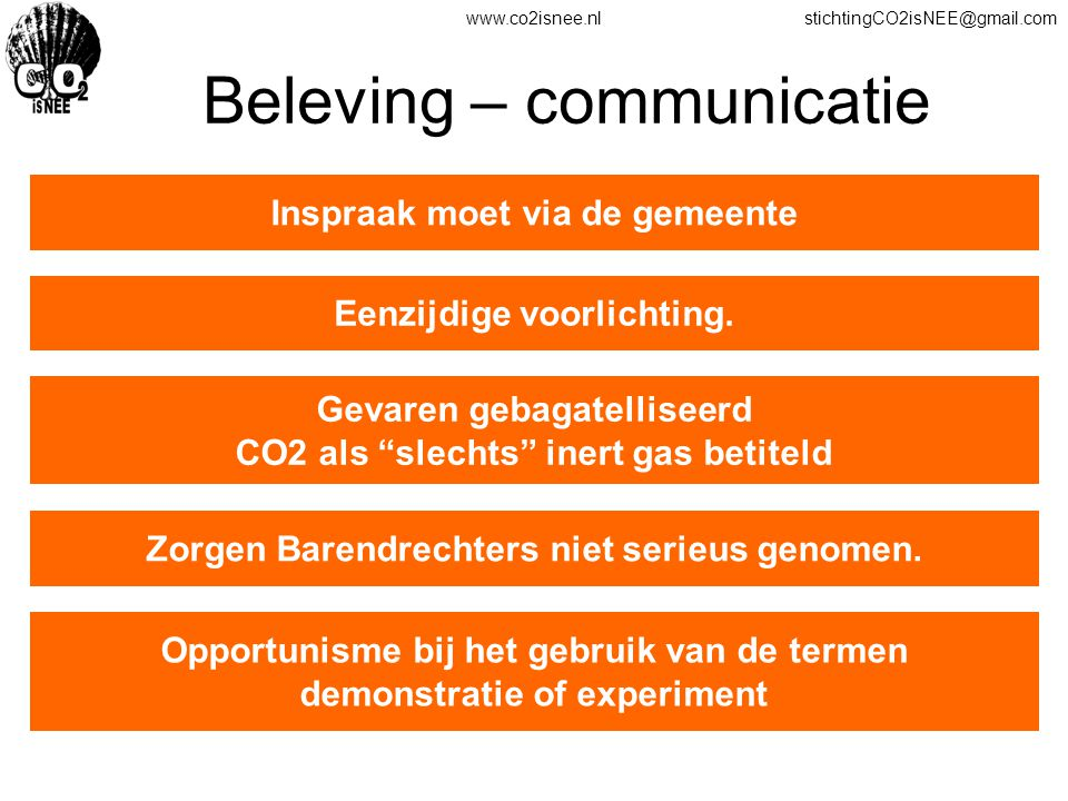 Beleving – communicatie