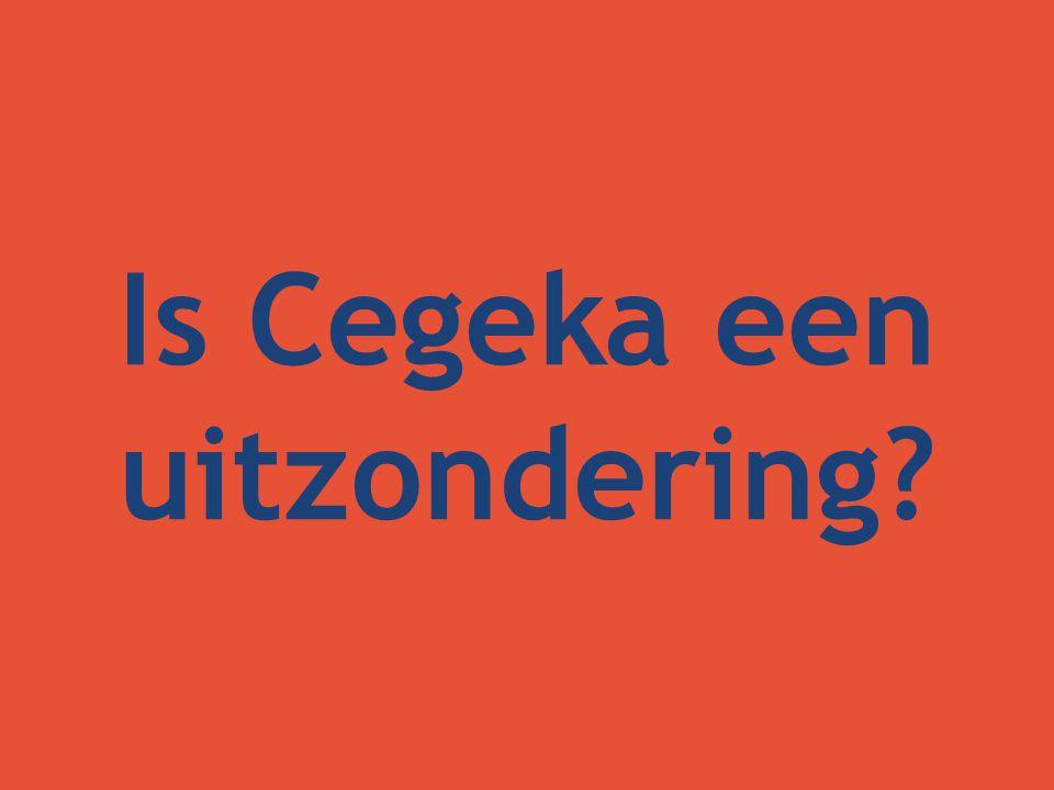 Is Cegeka een uitzondering