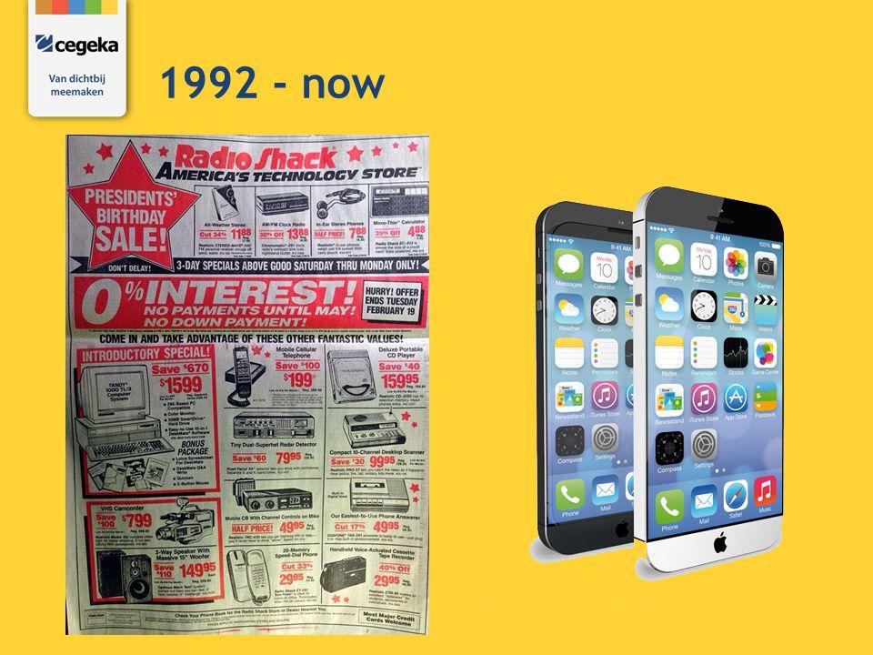 1992 - now