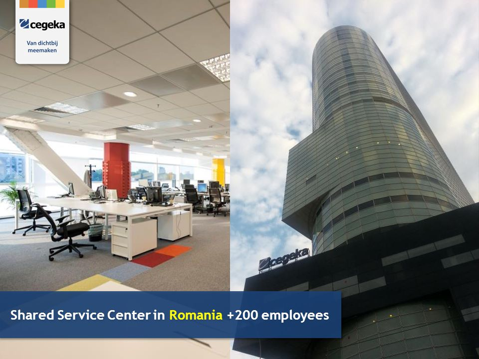 Shared Service Center in Romania +200 employees