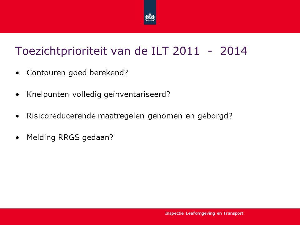 Toezichtprioriteit van de ILT 2011 - 2014