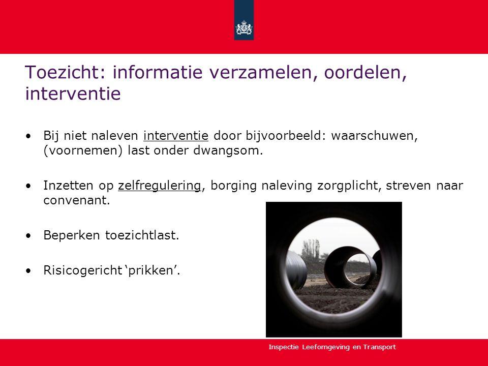Toezicht: informatie verzamelen, oordelen, interventie