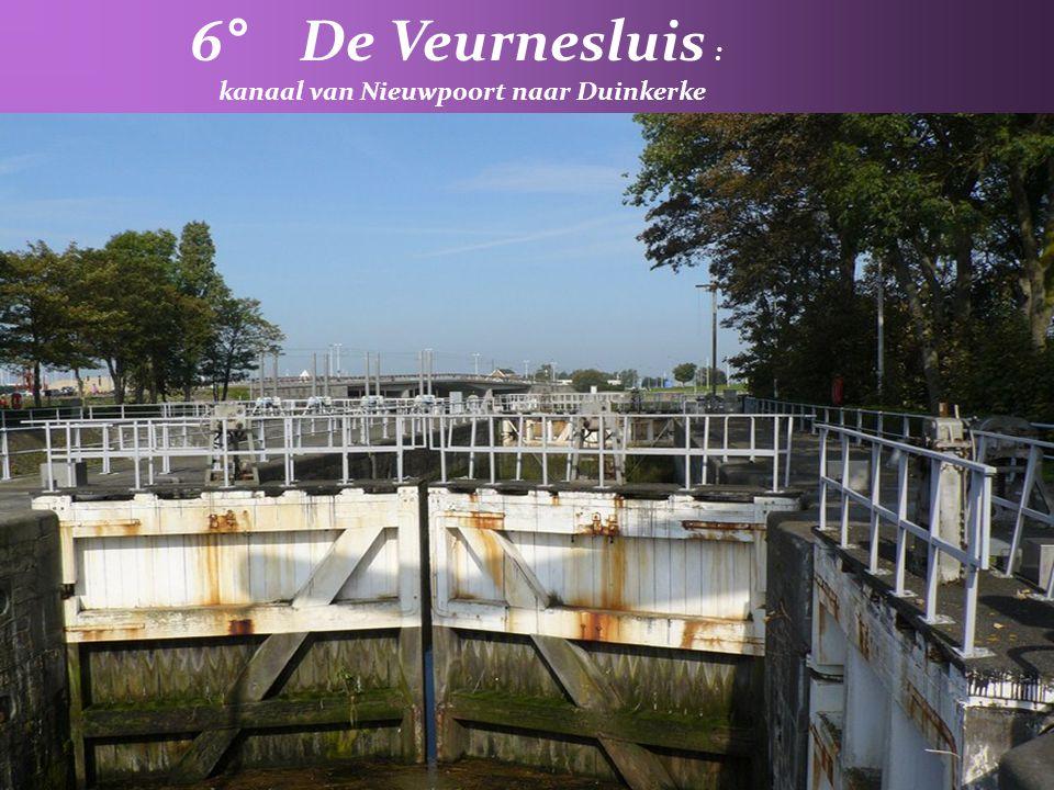 kanaal van Nieuwpoort naar Duinkerke