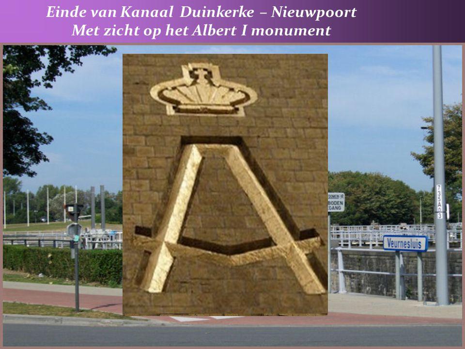 Einde van Kanaal Duinkerke – Nieuwpoort