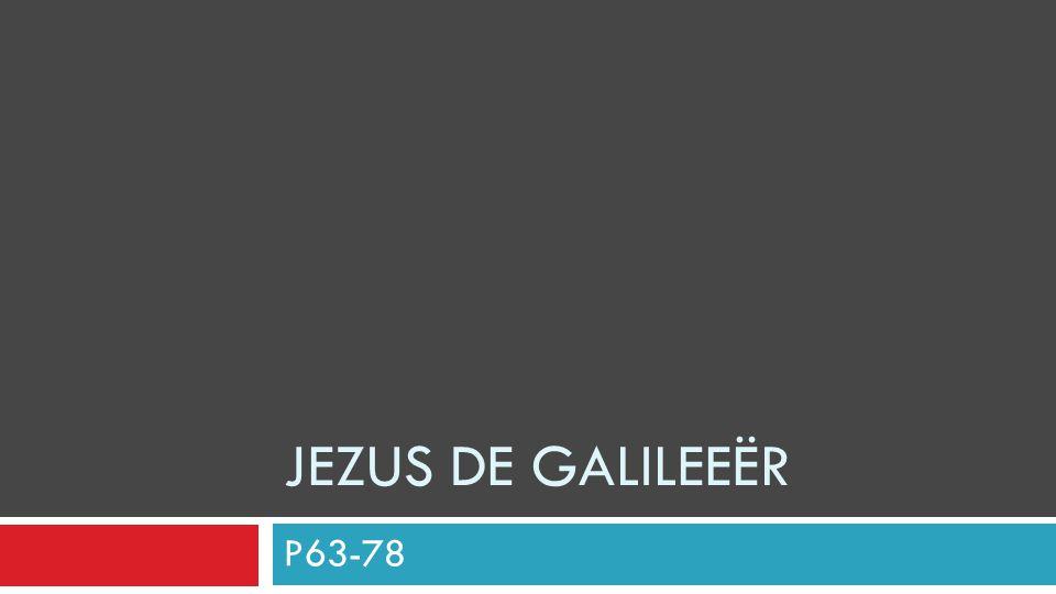 Jezus de Galileeër P63-78
