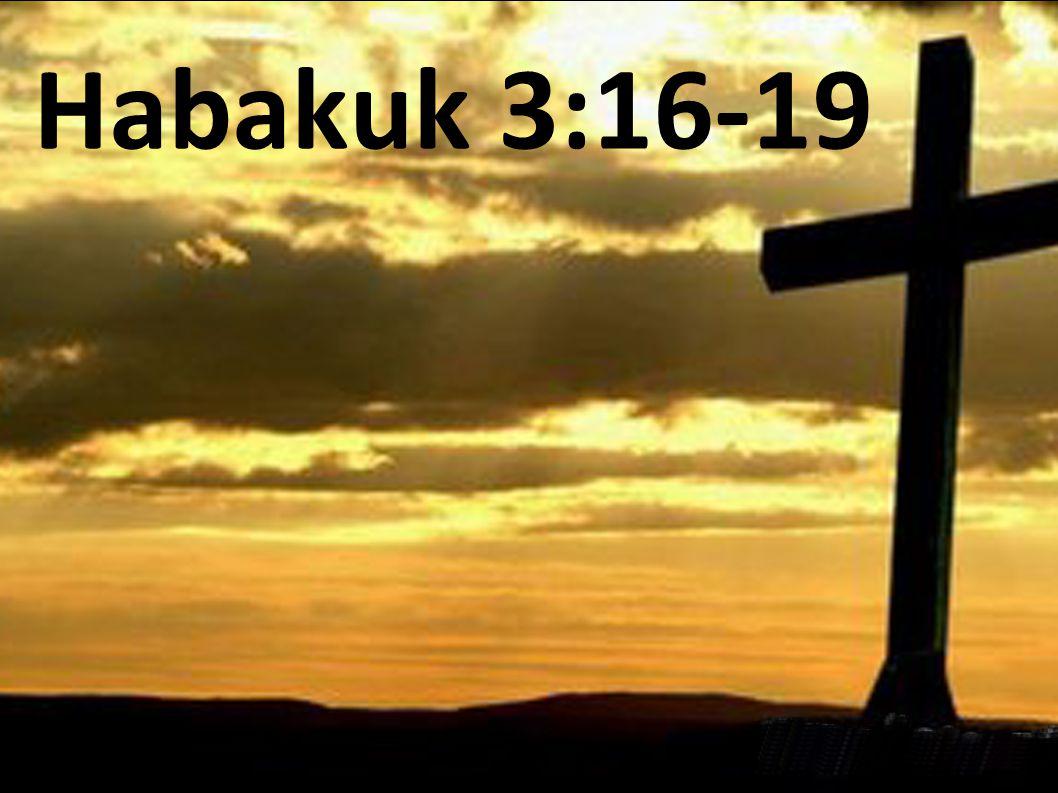 Habakuk 3:16-19