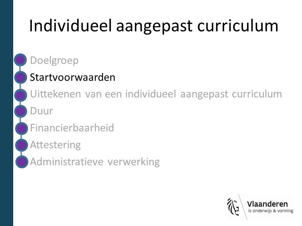 Individueel aangepast curriculum