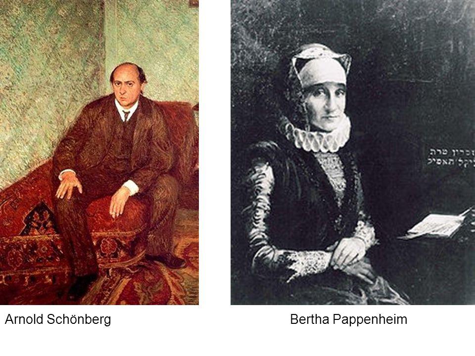 Arnold Schönberg Bertha Pappenheim