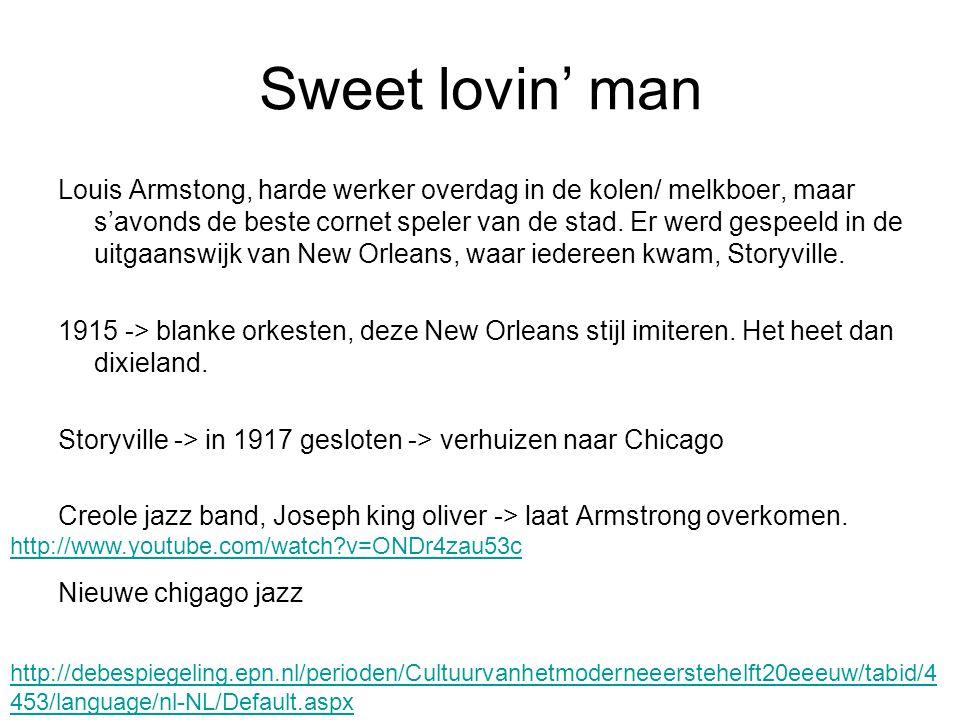 Sweet lovin' man