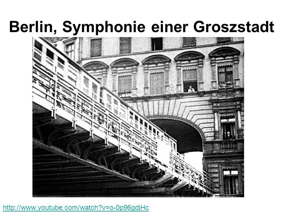 Berlin, Symphonie einer Groszstadt