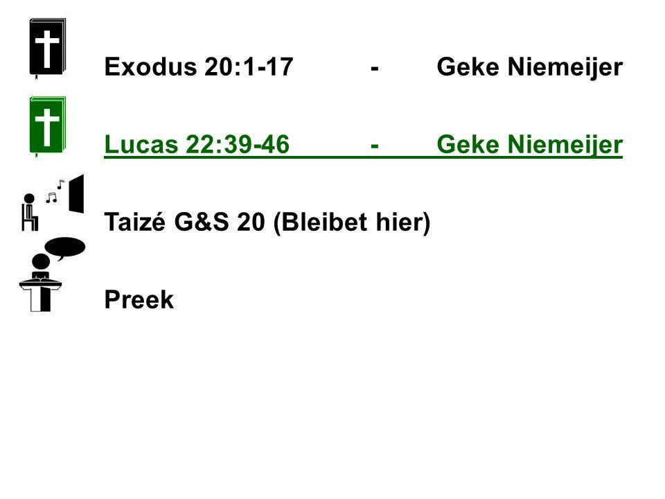 Exodus 20:1-17 - Geke Niemeijer