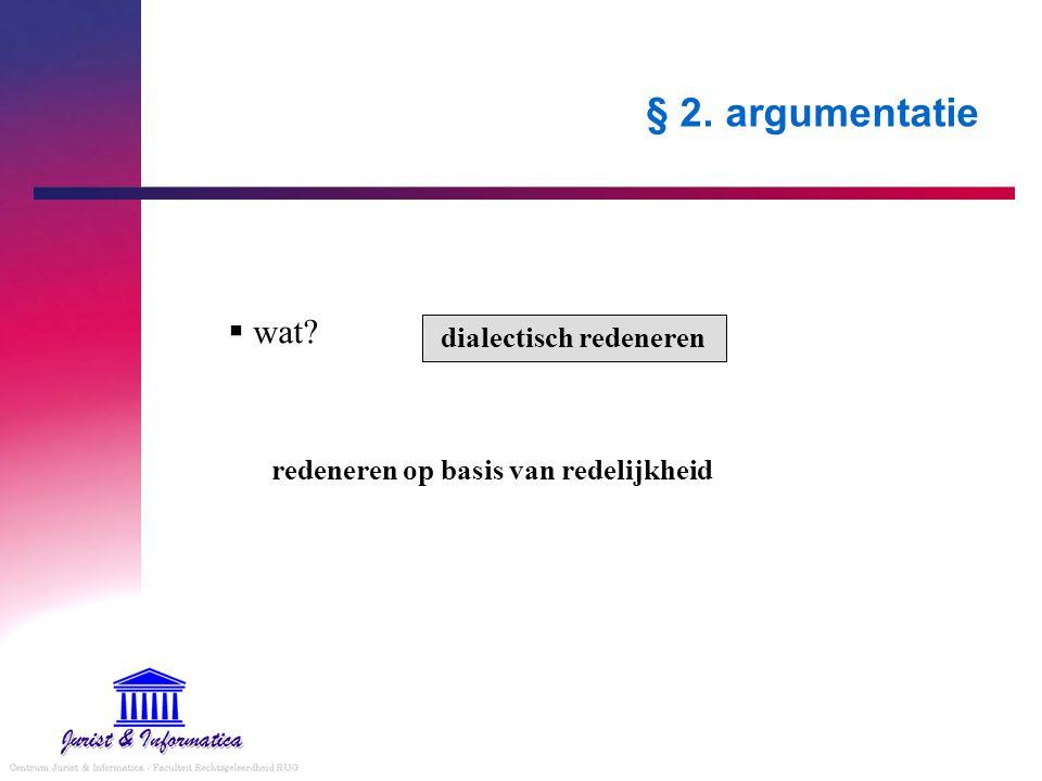 dialectisch redeneren