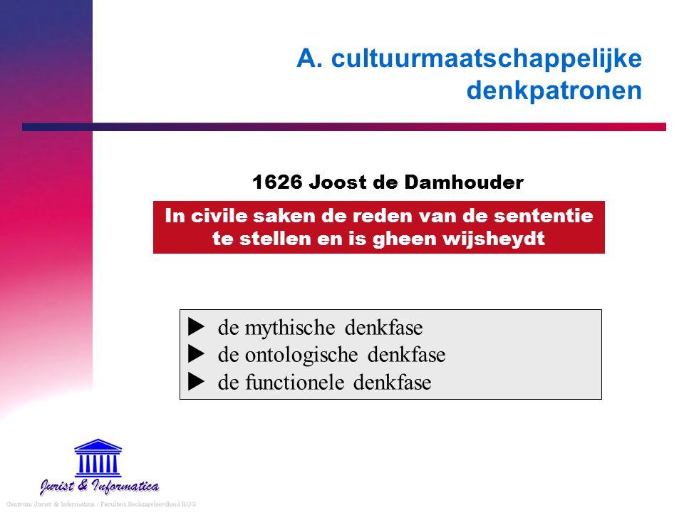 A. cultuurmaatschappelijke denkpatronen