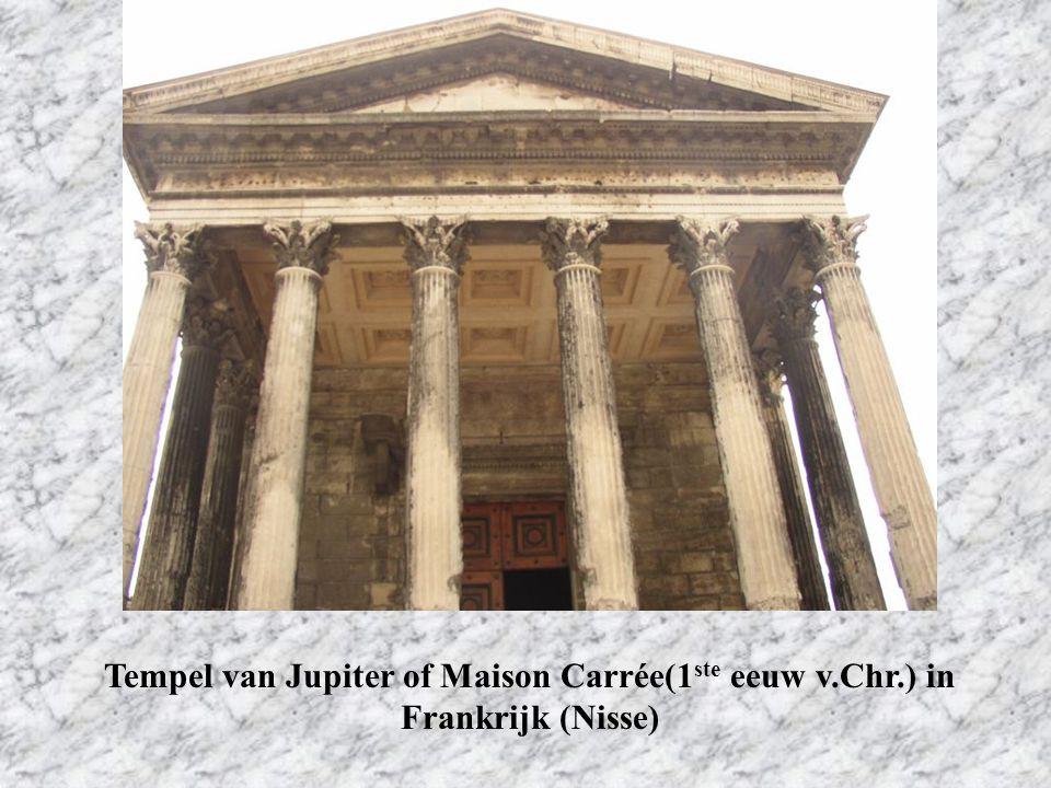 Tempel van Jupiter of Maison Carrée(1ste eeuw v. Chr