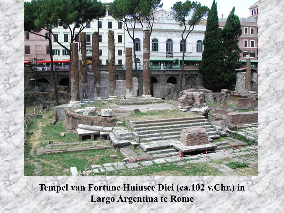 Tempel van Fortune Huiusce Diei (ca. 102 v. Chr