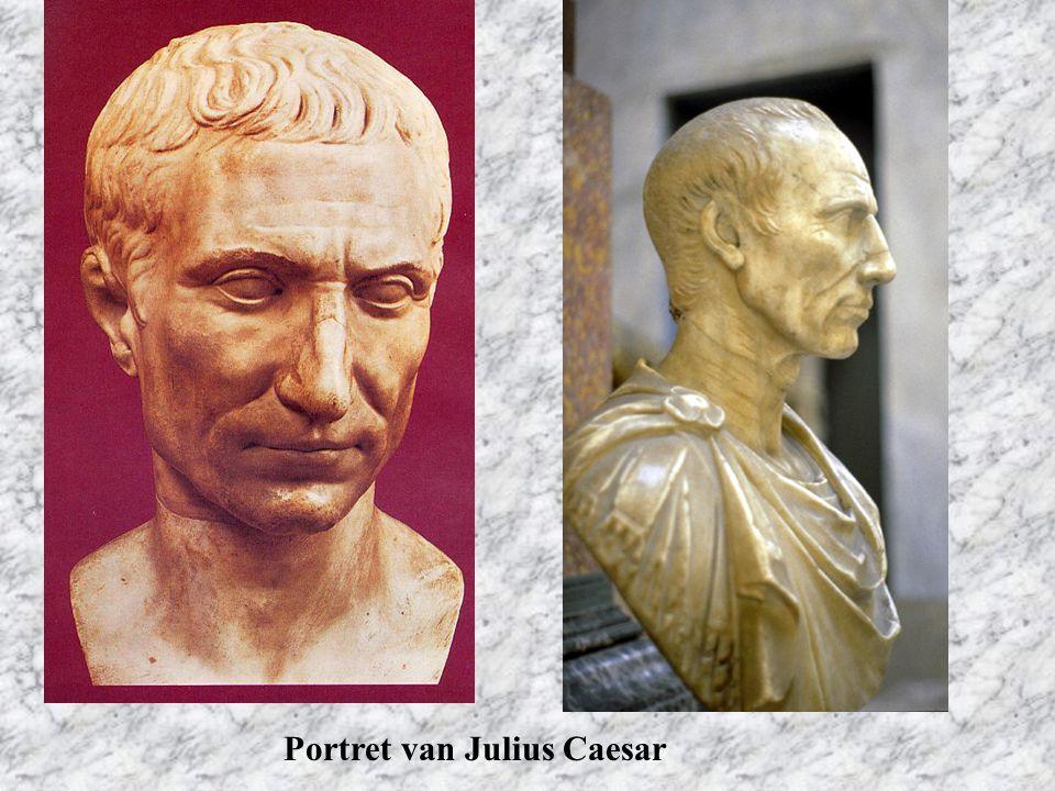 Portret van Julius Caesar