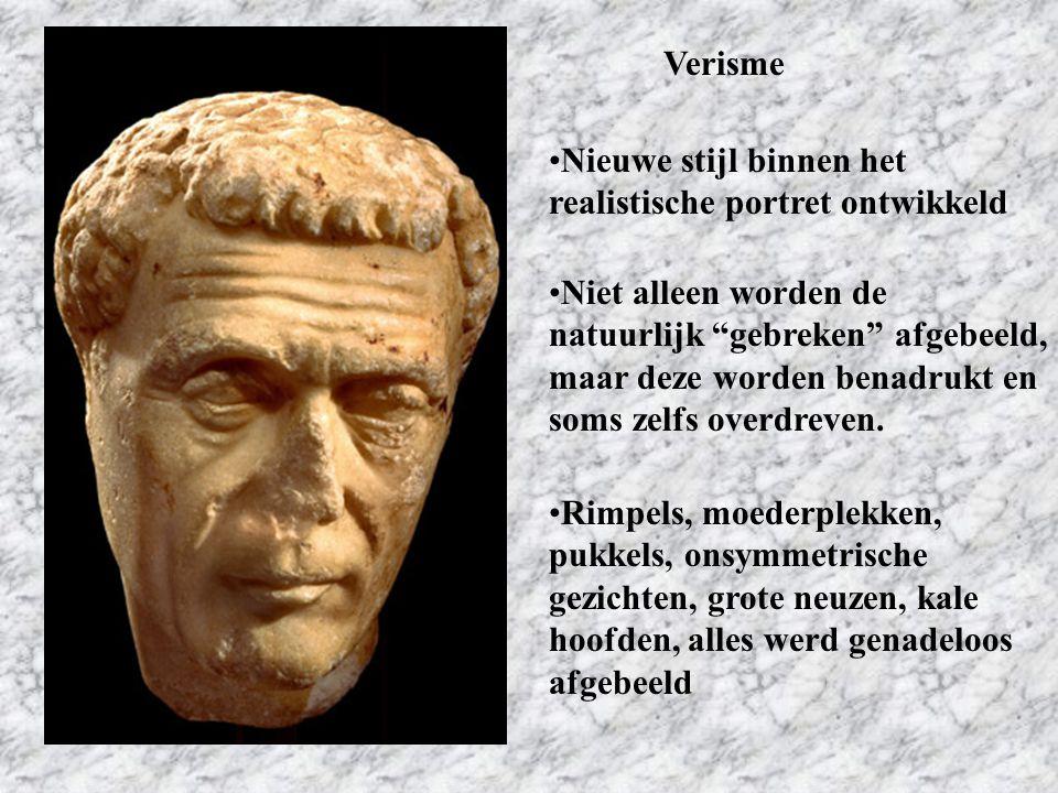 Verisme Nieuwe stijl binnen het realistische portret ontwikkeld.