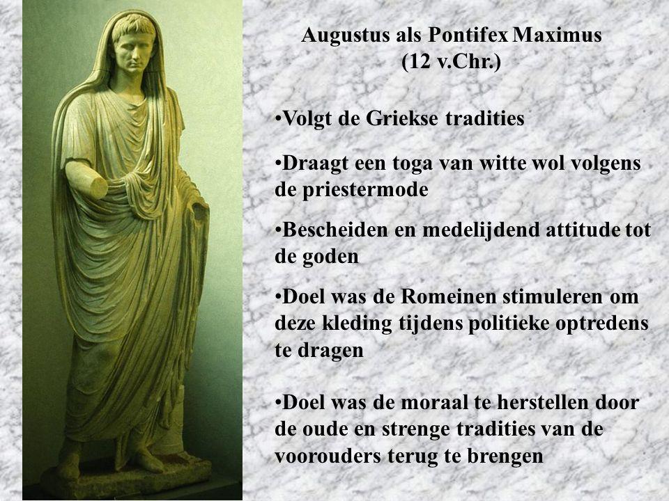 Augustus als Pontifex Maximus (12 v.Chr.)