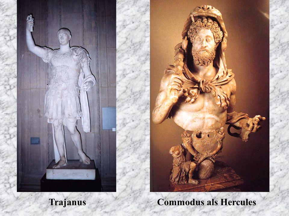 Trajanus Commodus als Hercules