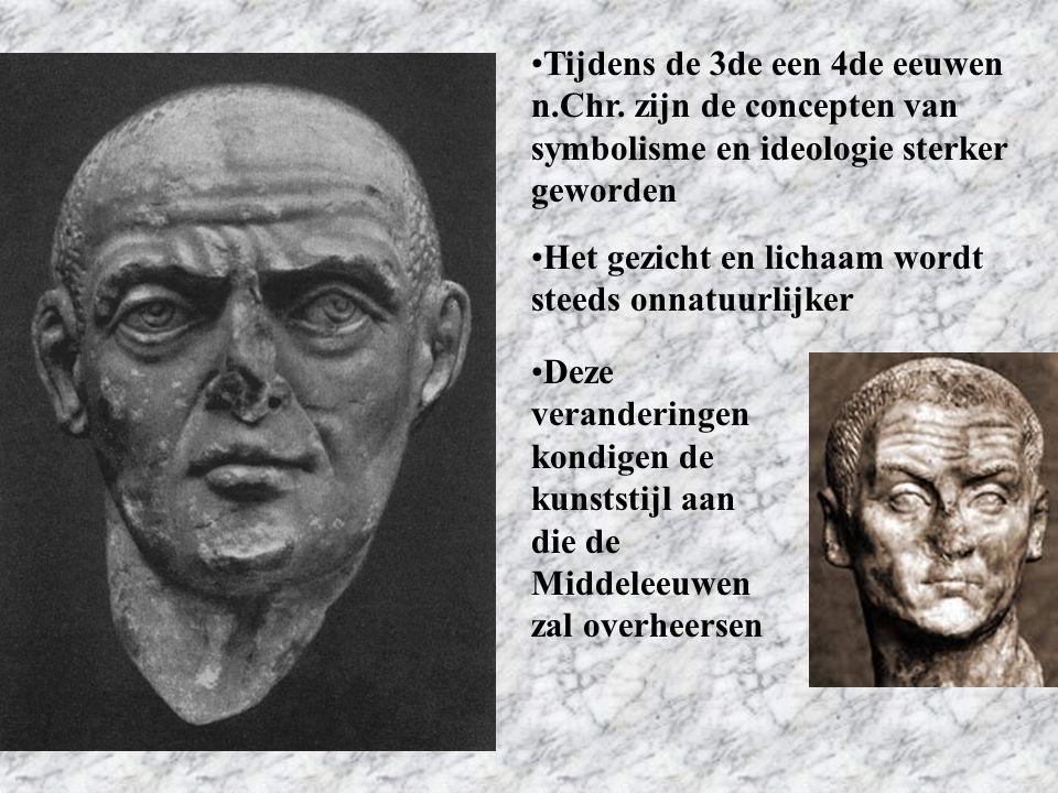 Tijdens de 3de een 4de eeuwen n. Chr
