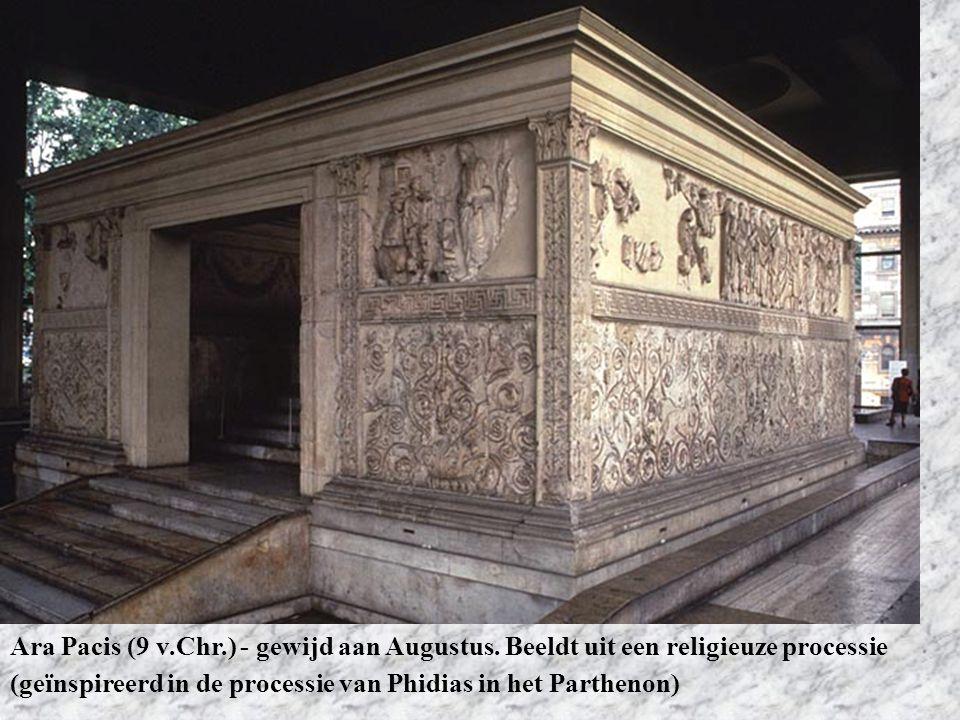 Ara Pacis (9 v. Chr. ) - gewijd aan Augustus